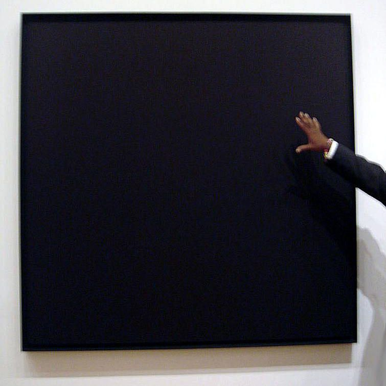 Ad Reinhardt's Black Painting