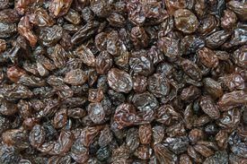 Full frame shot of seedless raisins