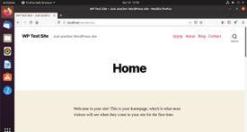 Blog header on WordPress