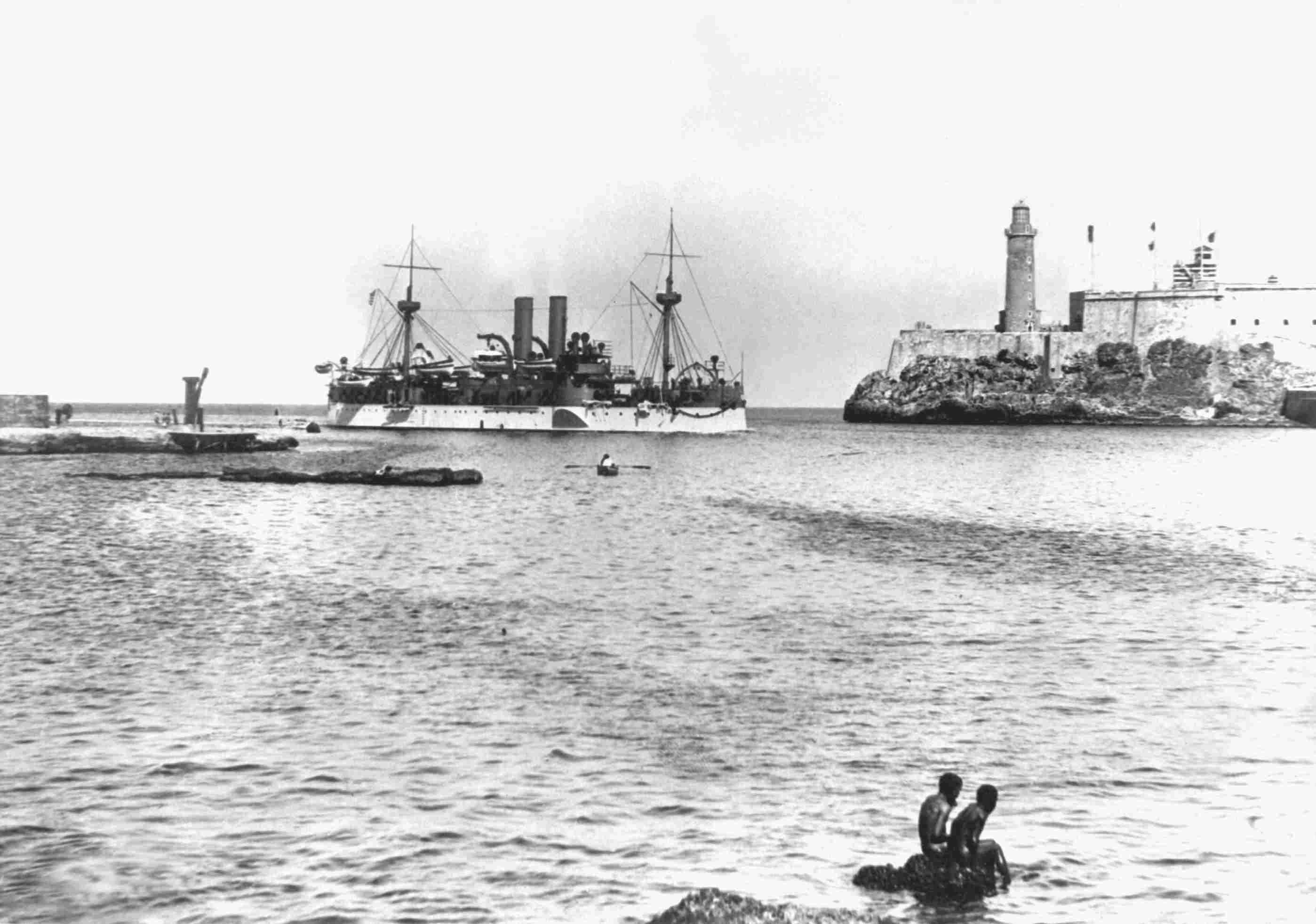 USS Maine at Havana