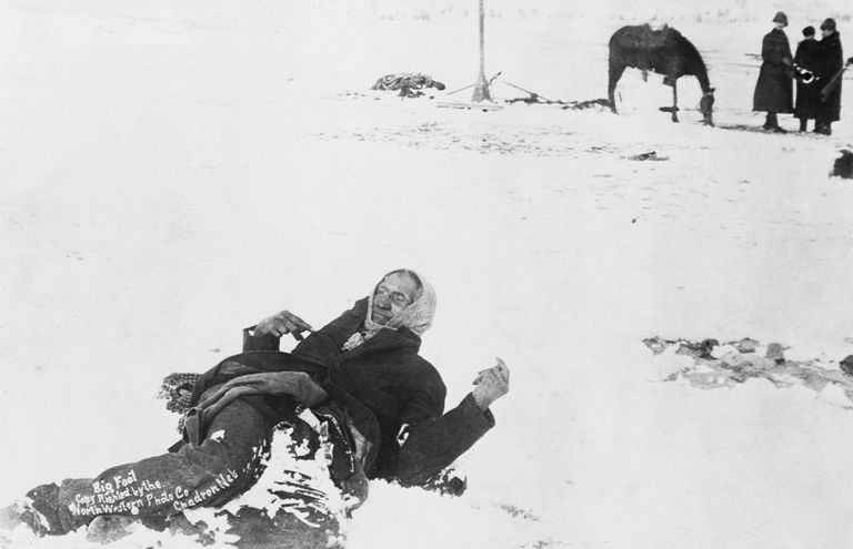 how did wounded knee get its name