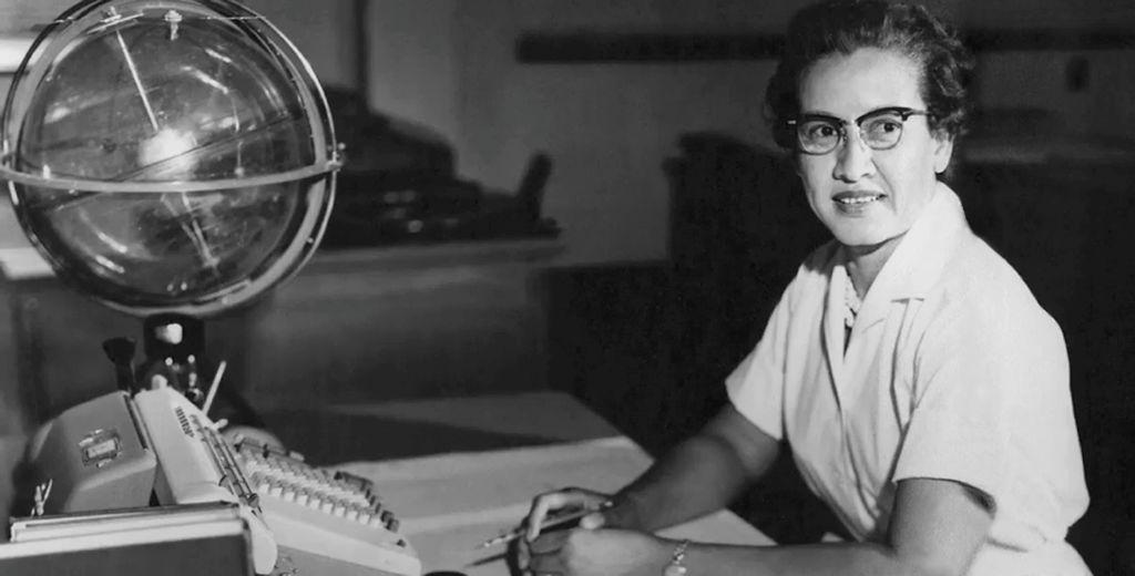 NASA space scientist, and mathematician Katherine Johnson, 1962.
