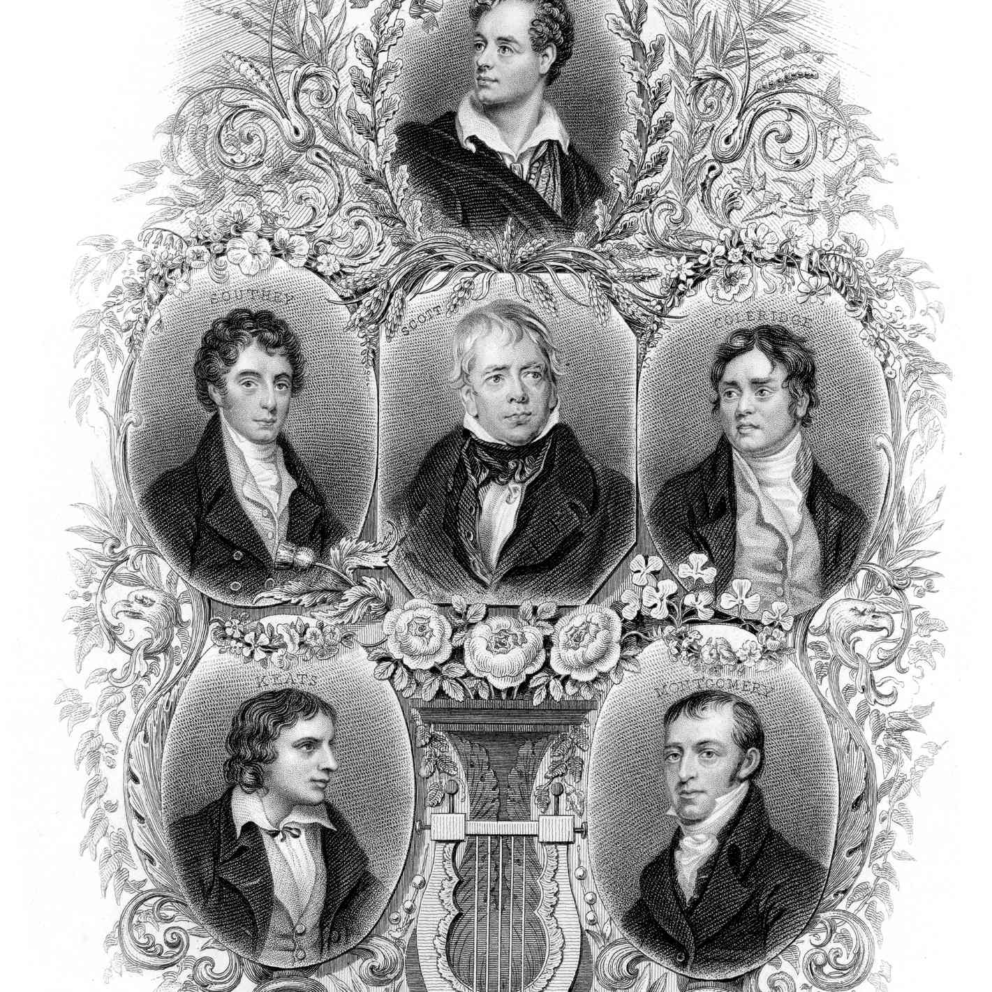 Famous British Poets and Writers