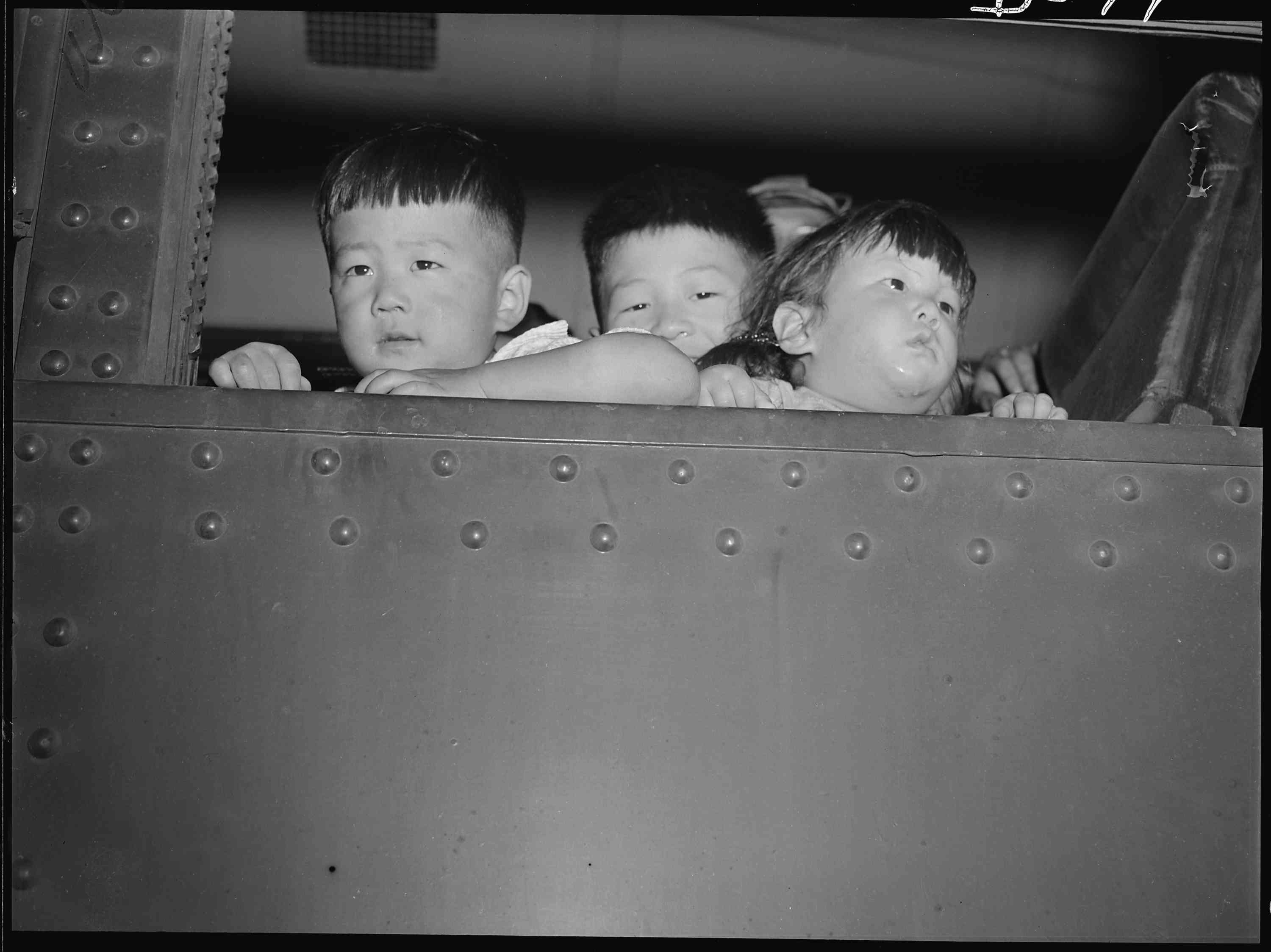 Japanese Internment camp residents