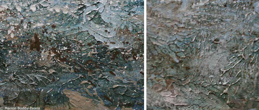 How to Use Acrylic Painting Texture Medium