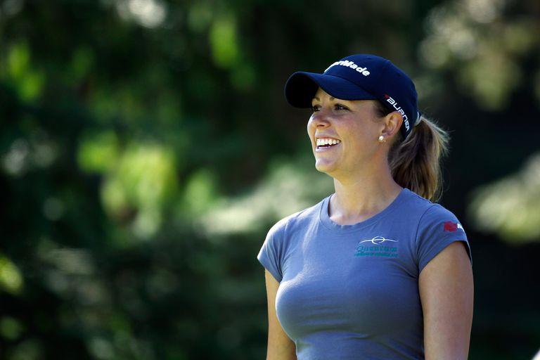 Sara Brown during the 2011 LPGA Safeway Classic tournament