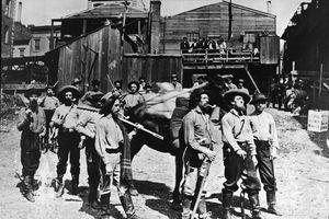 Gold rush prospectors