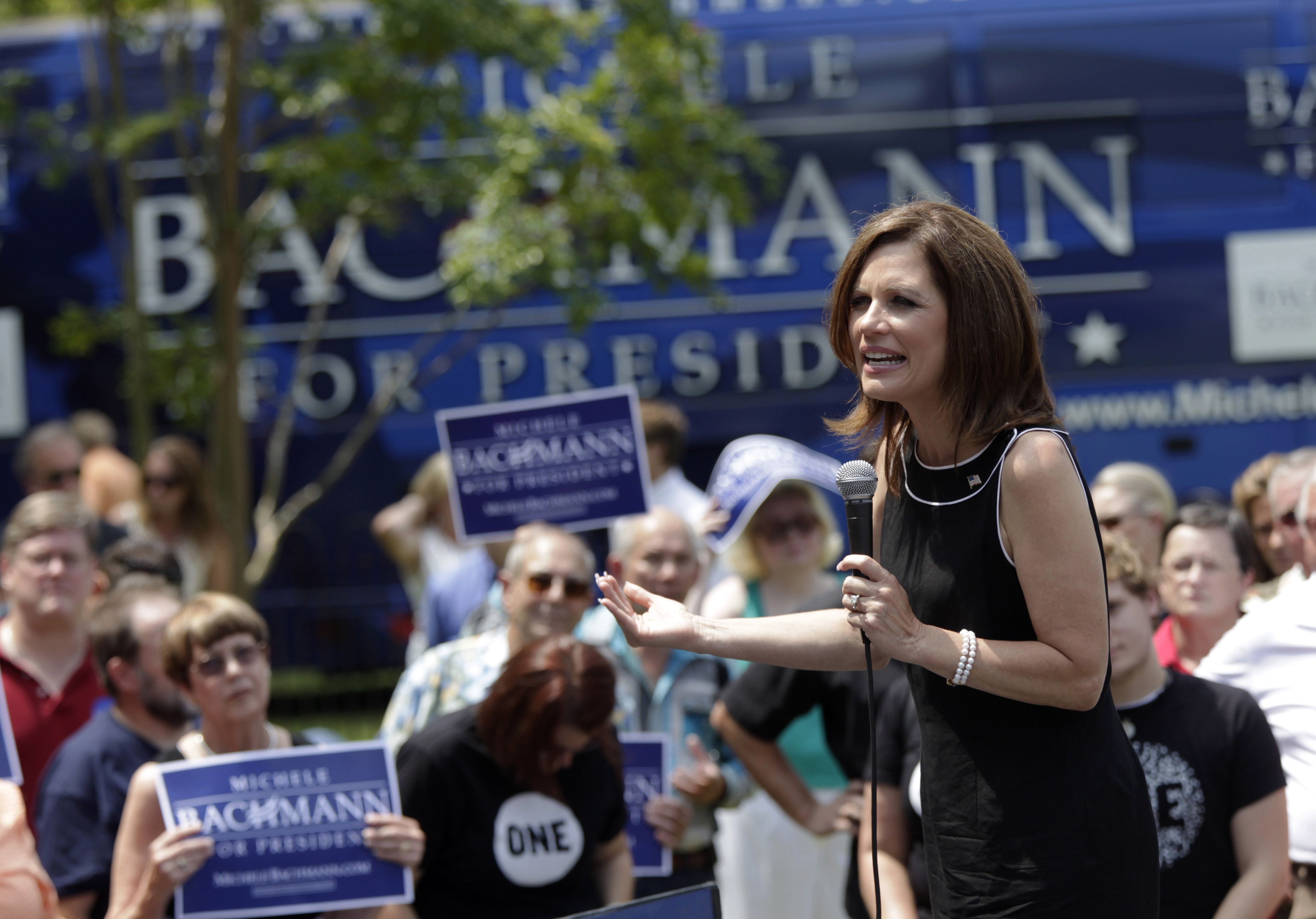 Michele Bachmann Campaigning, August 2011