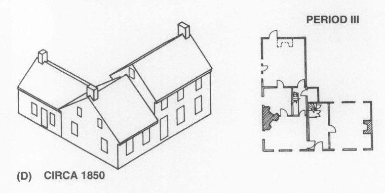 18th Century Farmhouse, 1850 Second Addition