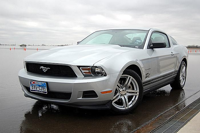 2011 V6 Mustang equipped with Cooper Zeon RS3-A tires.