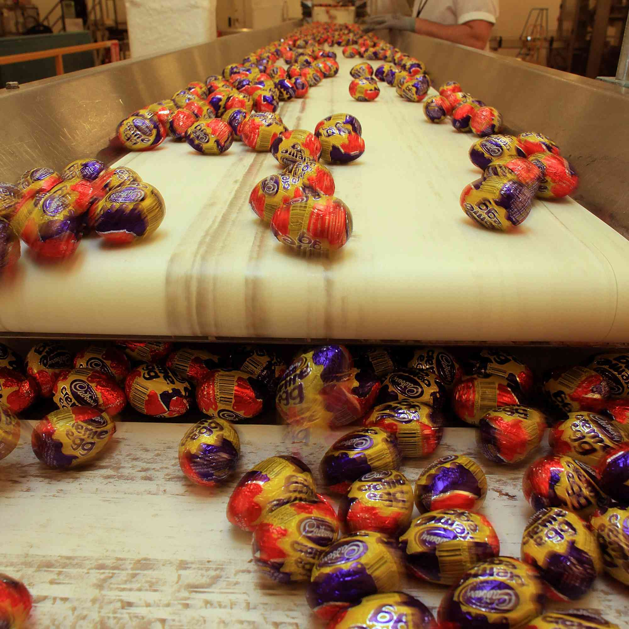 Easter Chocolate Production At Cadbury
