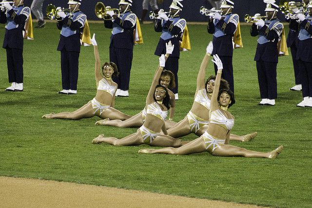 Southern University Dancing Dolls and Human Jukebox Marching Band