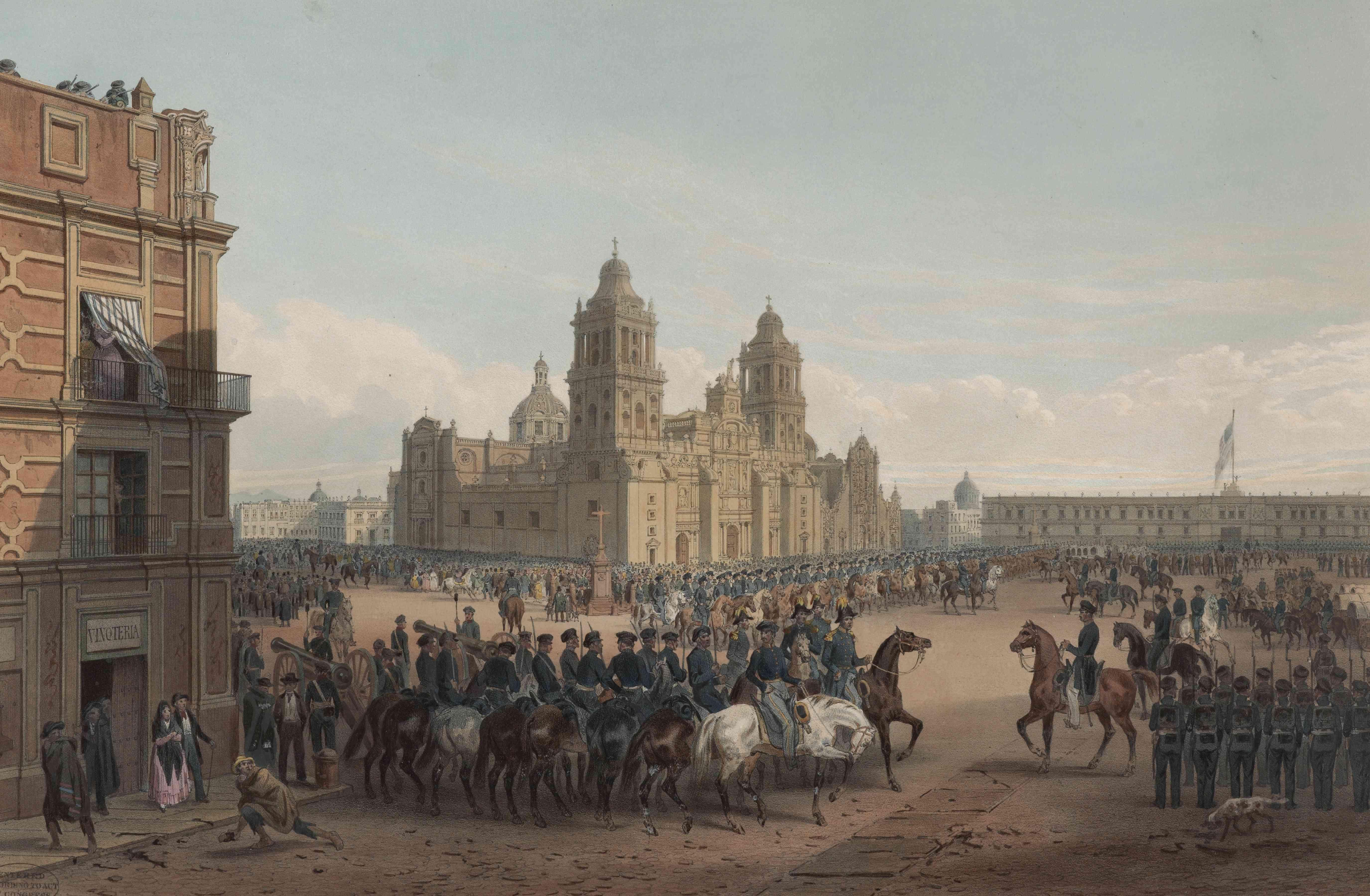 General Scott Entering Mexico