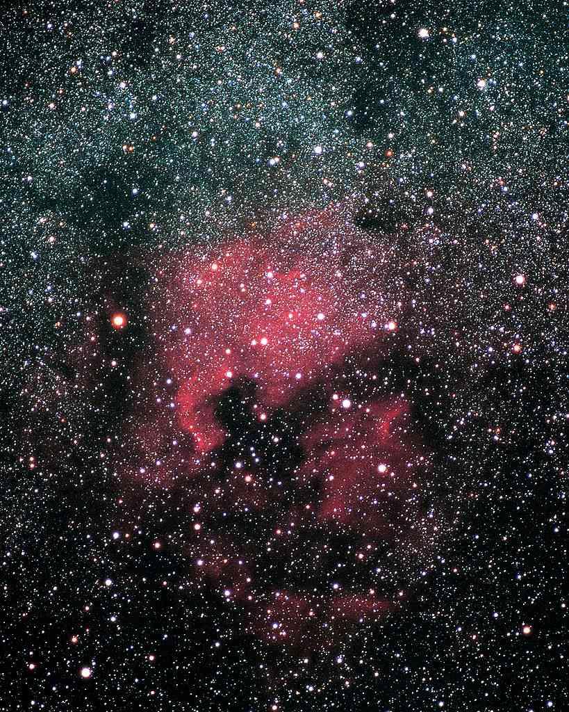 The North America Nebula in Cygnus constellation.