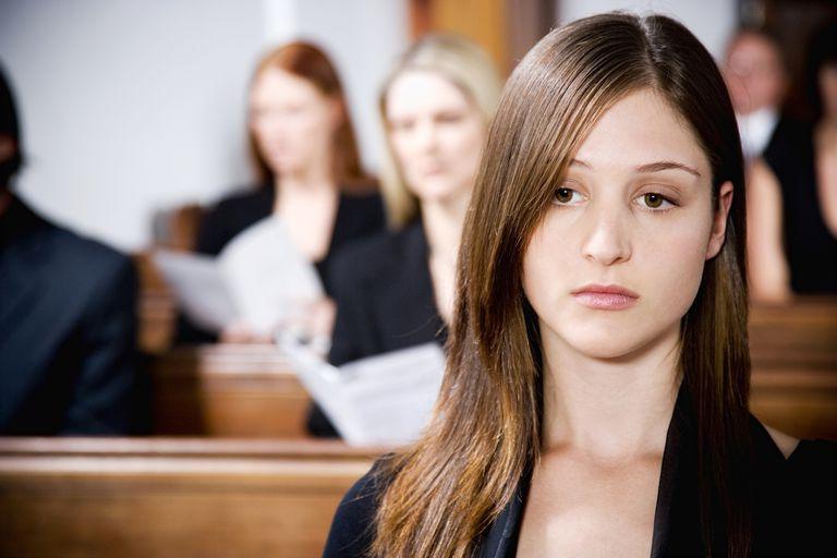 Girl in Church