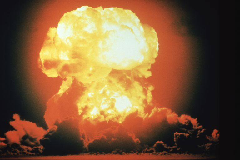Hydrogen bomb explosion