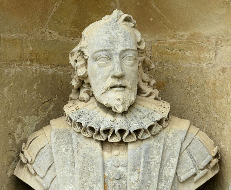 bust of Sir Francis Bacon