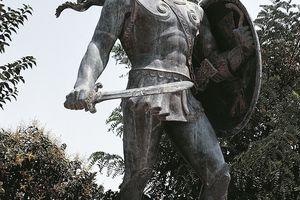 Statue of Leonidas, King of Sparta