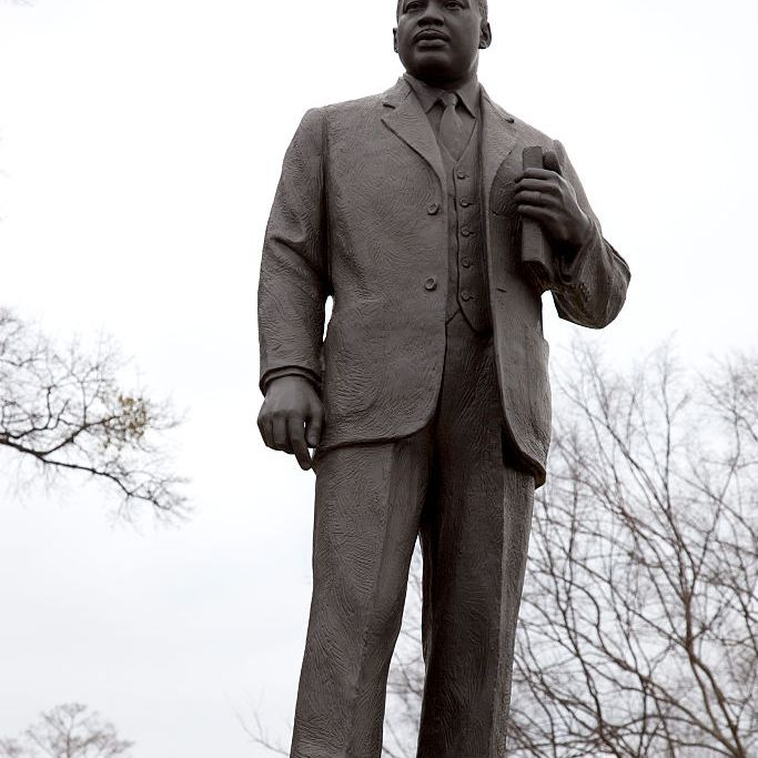 Martin Luther King Jr. statue in Birmingham, Alabama