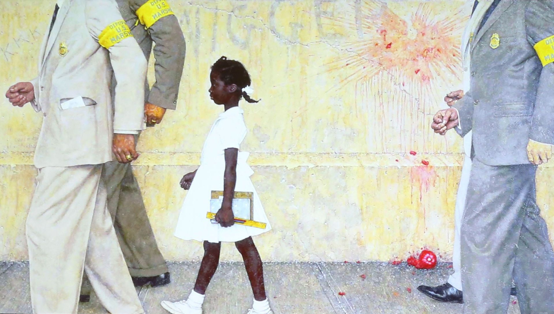 """A Look at Rockwell's """"The Problem We All Live With"""""""
