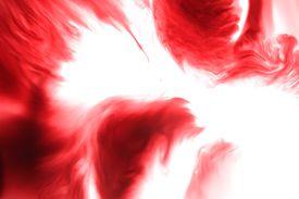 Red Dye in Liquid