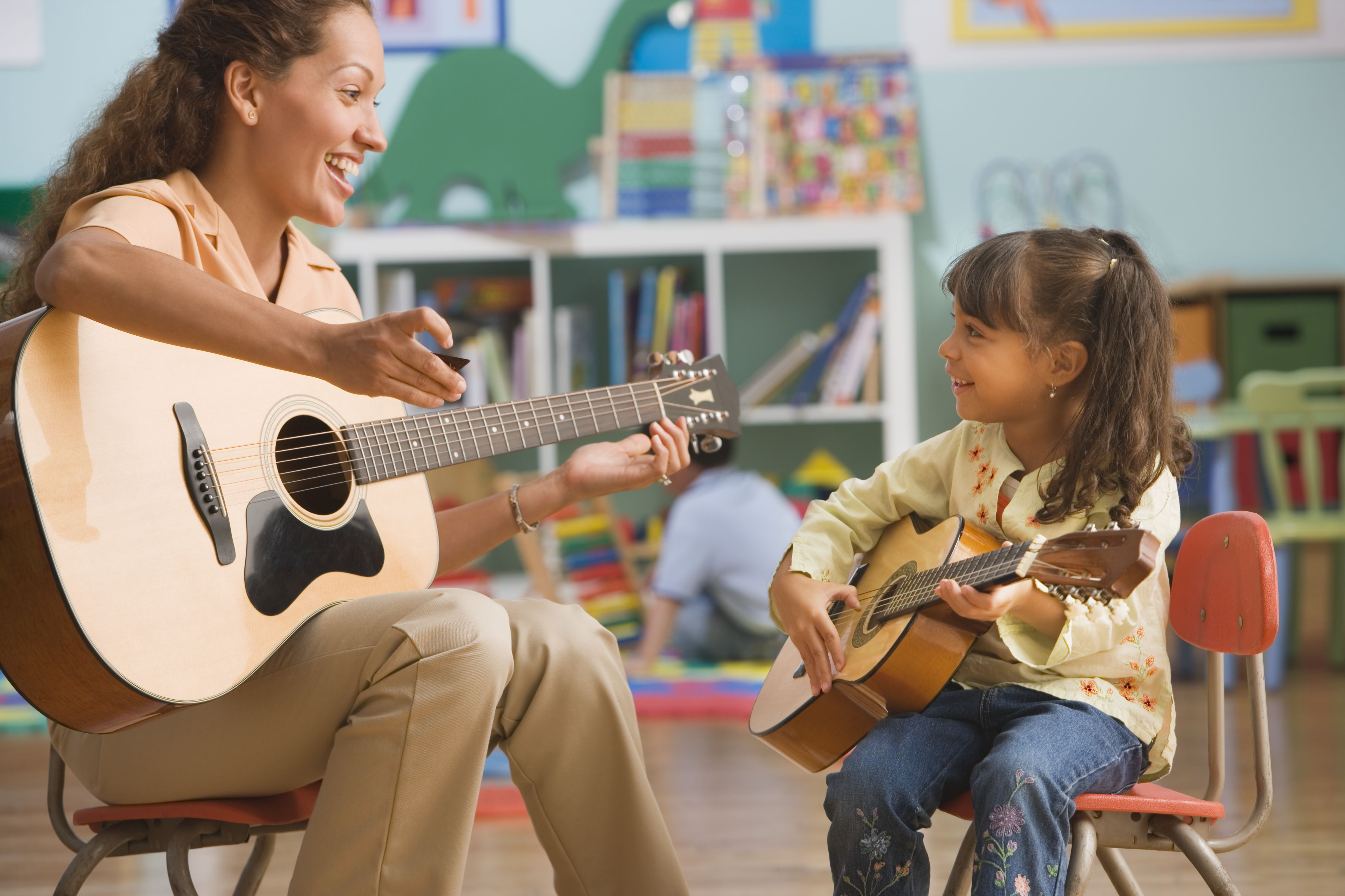 How To Teach Children To Play Guitar