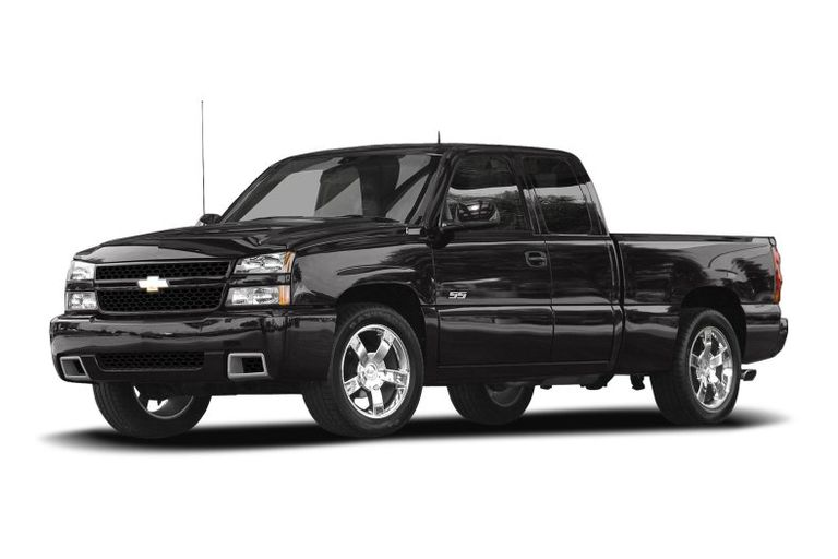 2007 Chevy Silverado in Black