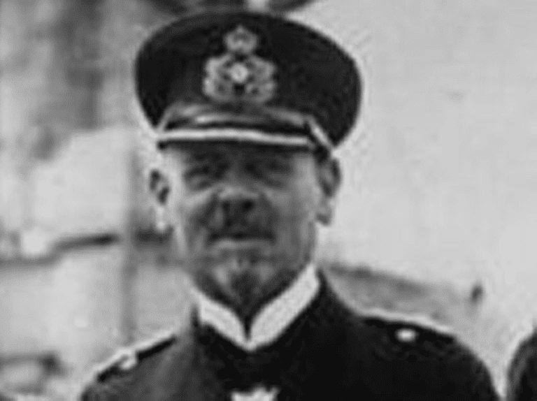 Admiral Franz von Hipper during World War I