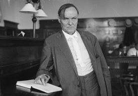 photo of attorney Clarence Darrow