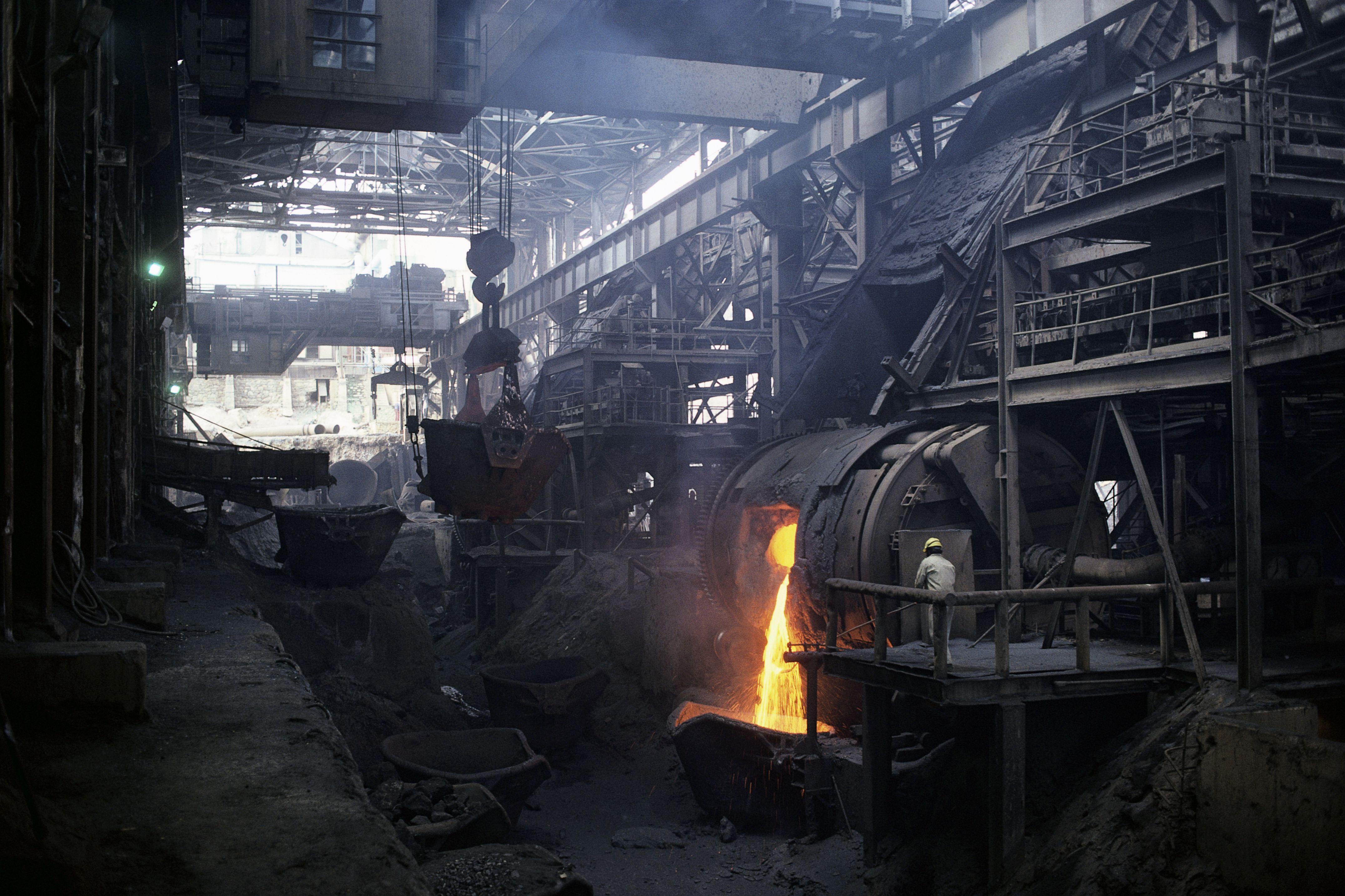 Cananea Copper Mine's smelter