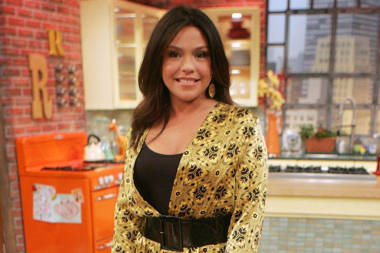 Television personality Rachael Ray poses during a taping of the 'Rachael Ray Show'
