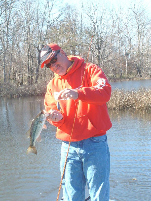 Boyd Duckett With Crankbait Bass On Lake Demopolis