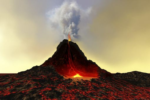 Classic Composite Volcano