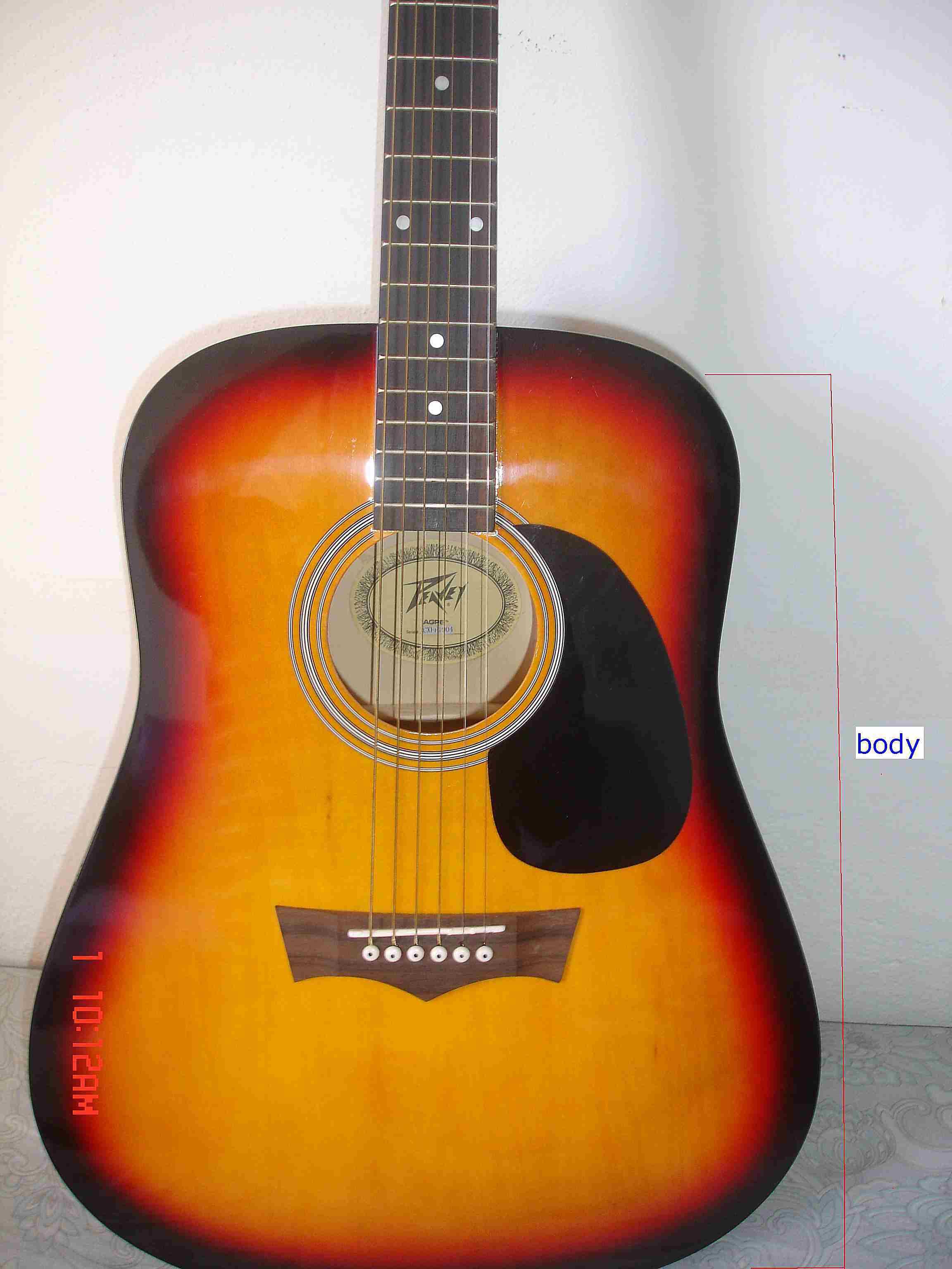 Parts Of An Acoustic Guitar Photo Guide Part Diagram