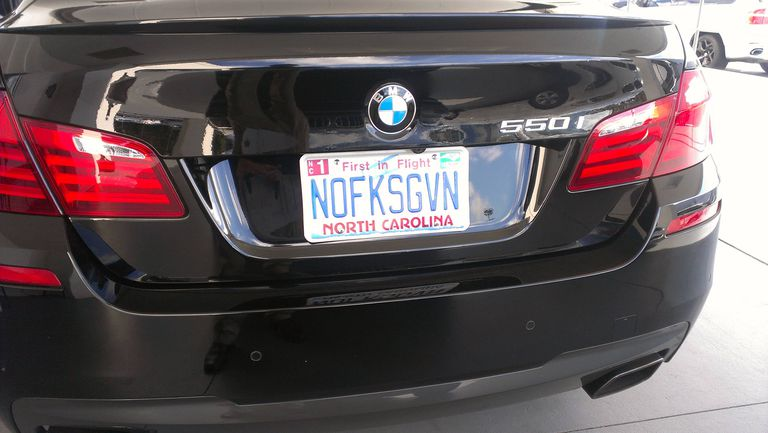 20 Very Clever And Very Dirty License Plates