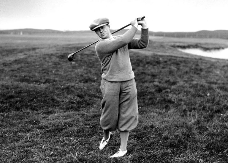 1930 British Open winner Bobby Jones