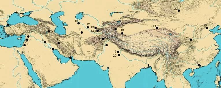 Cities of the Silk Road