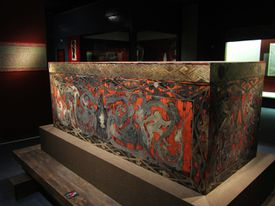 Coffin from the Mawangdui tomb.