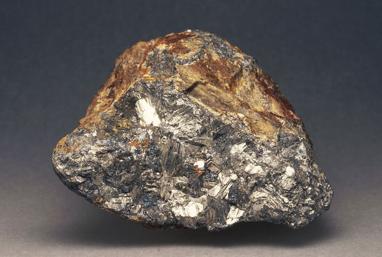 Specimen of Native Antimony