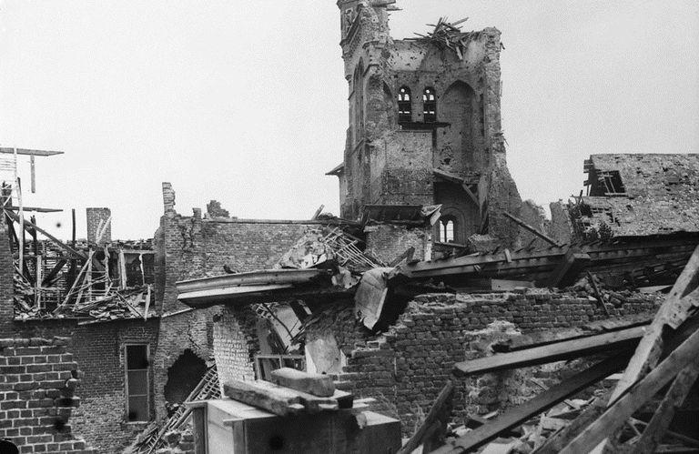 Ruins at Ypres, Belgium