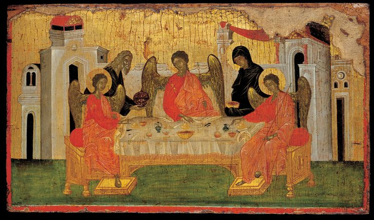 The Hospitality of Abraham (Old Testament Trinity)