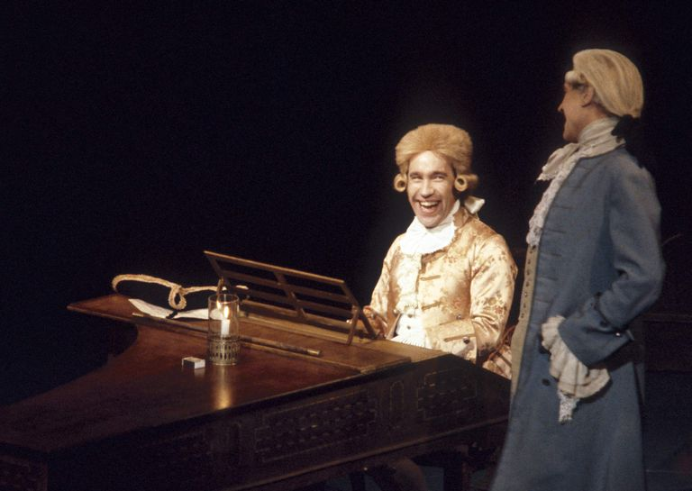 Mozart and Salieri from a 1983 production of