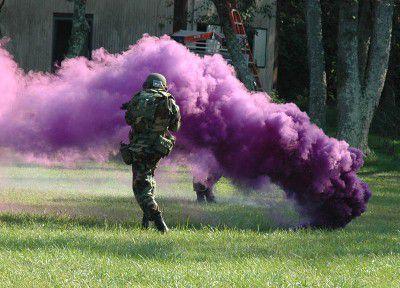 Non-Toxic Colored Smoke Bombs