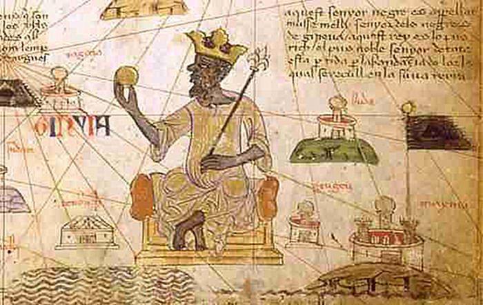 Mansa Musa from the Catalan Atlas