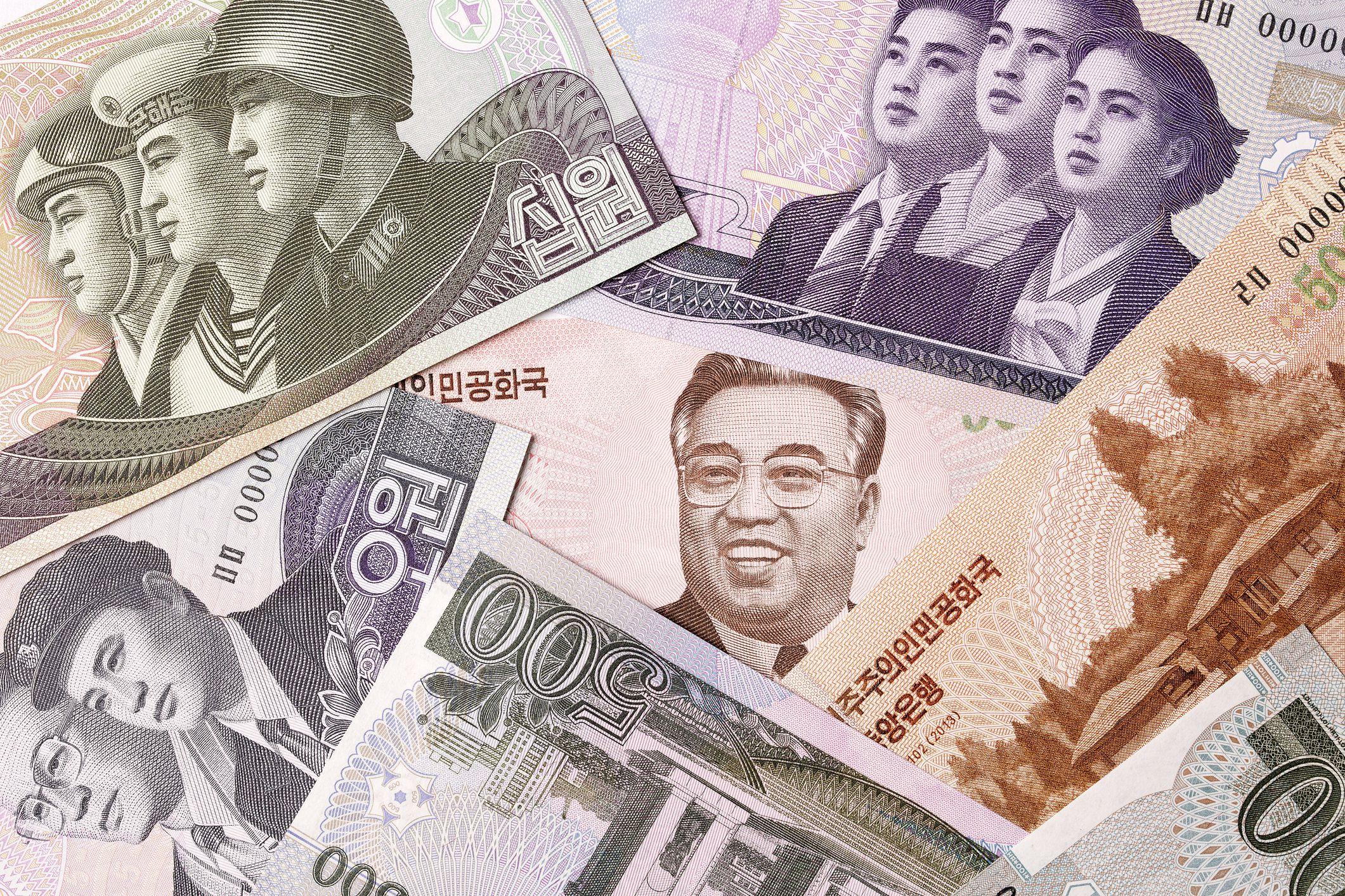 North Korean money, a background