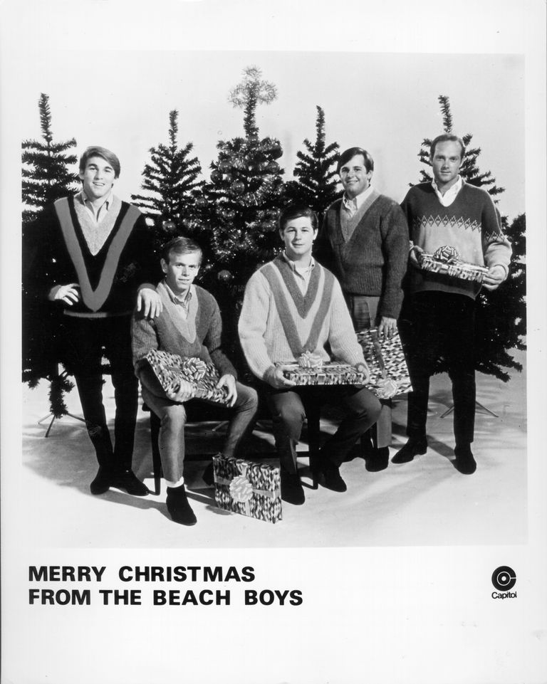 beach boys merry christmas