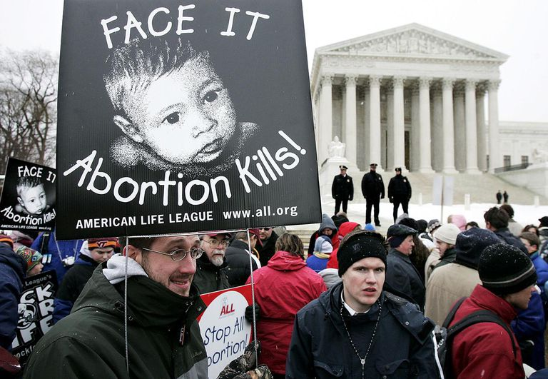 Pro-Life Activists Observe 32nd Aniversary Of Roe v Wade