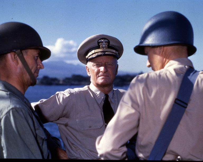 Admiral Nimitz's Inspection