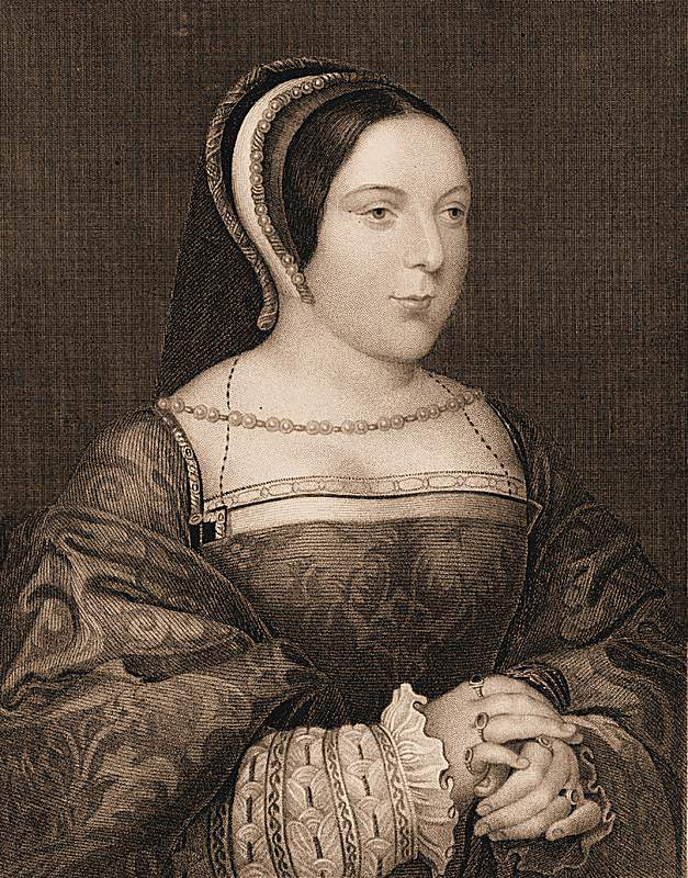 Margaret Tudor - after a painting by Holbein