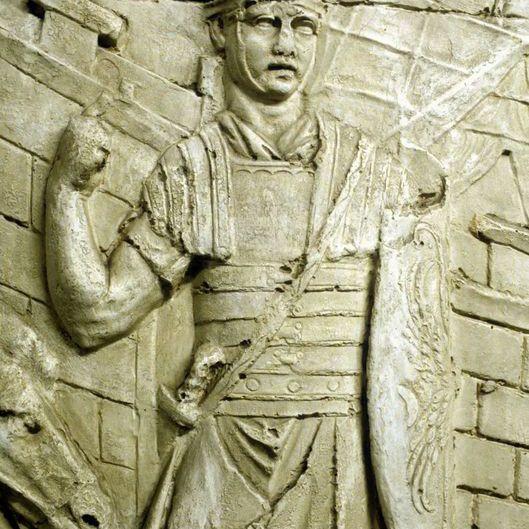 Roman Legionary on Trajan's Column